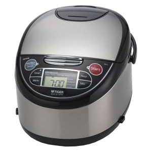JAX-T Series Stainless Steel Micom Rice Cooker With Tacook Cooking Plate