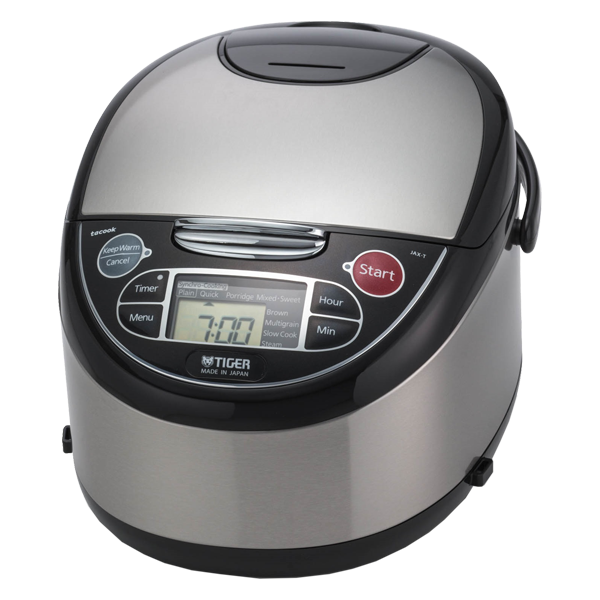 JAX-T Series Stainless Steel Micom Rice Cooker With Tacook
