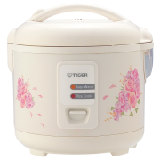 JAZ-A Series Conventional Rice Cooker With Floral Design