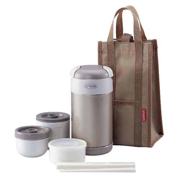 LWR-A Stainless Steel Lunch Box With Microwavable Containers