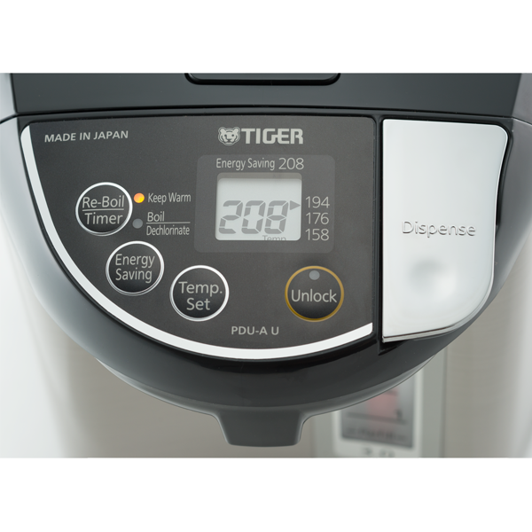 Tiger PDU A50U K Electric Water Boiler and Warmer 120V 5 0 Liter