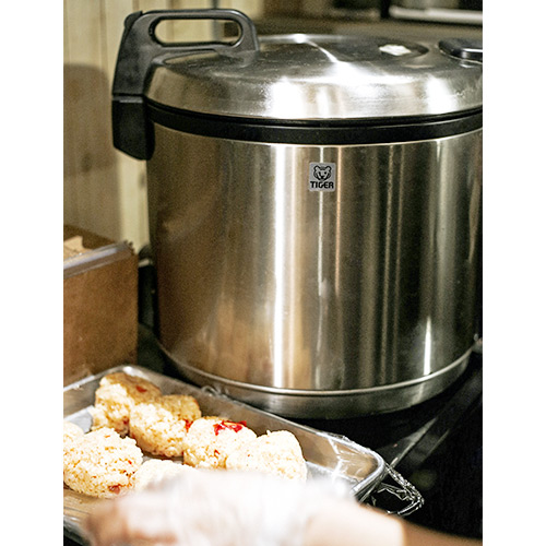 JNO-A 20-Cup Stainless Steel Commercial Rice Cooker