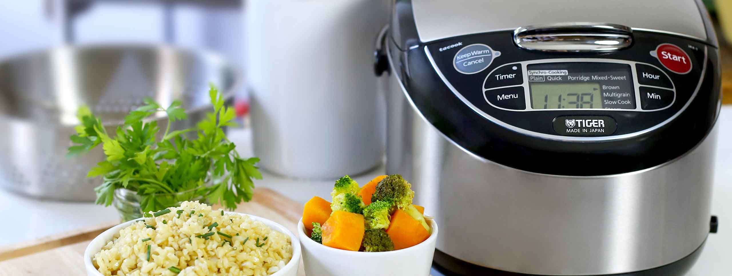 Rice Cookers - TIGER CORPORATION U.S.A. | Rice Cookers, Small kitchen  electronics
