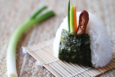 Teriyaki Chicken Onigiri