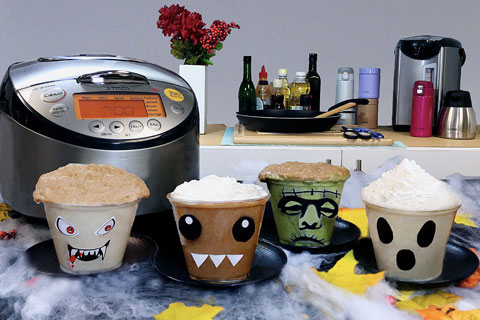 Halloween Rice Pudding