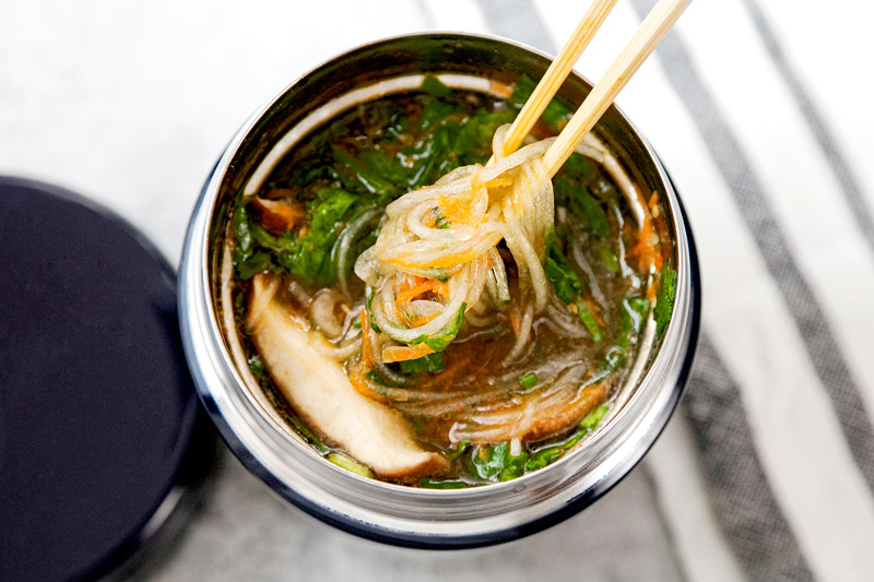 This is a delicious & healthy konbucha noodle soup recipe! Just add hot water using one of our Tiger water boilers, steep and you'll be eating noodle soup that happens to be as healthy as it is delicious! Your skin will glow, your nails will grow and your tummy will be happy! Grab the recipe on our Tiger USA website!