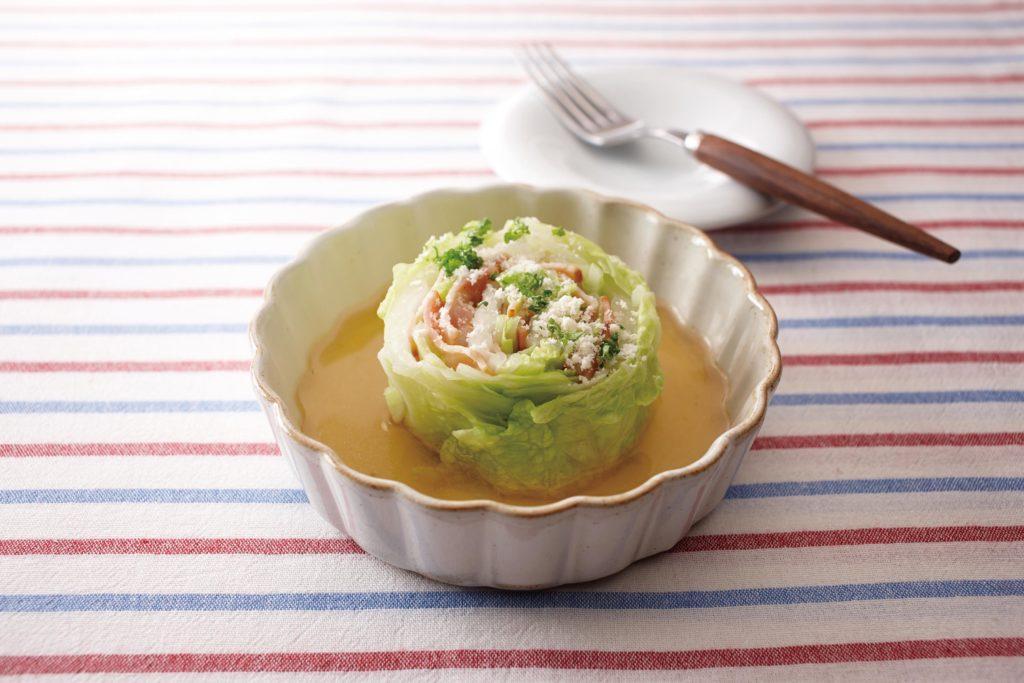 Bacon Stuffed Napa Cabbage - Tasty and so easy to make! #ricecookerrecipe #main #healthydinner