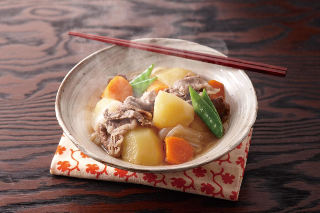 Nikujaga - Japanese beef stew made in a Tiger multi cooker. #japanesefood #beefstew #slowcookerrecipes | Tiger Usa