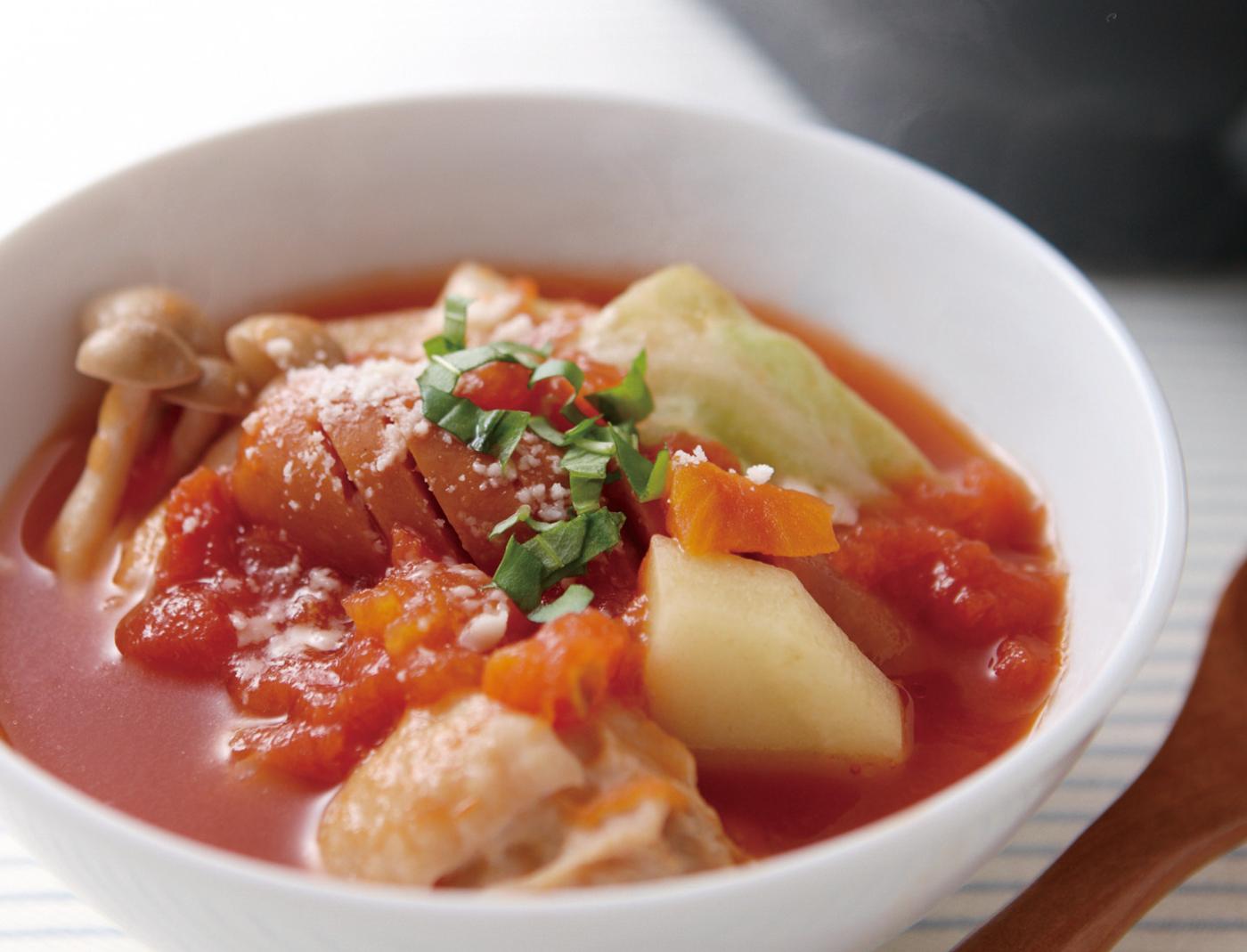 Tomato Nabe (Hot Pot)トマト鍋