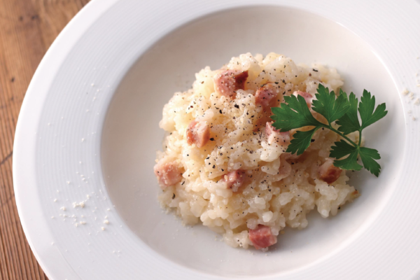 Bacon and Parmesan Risotto