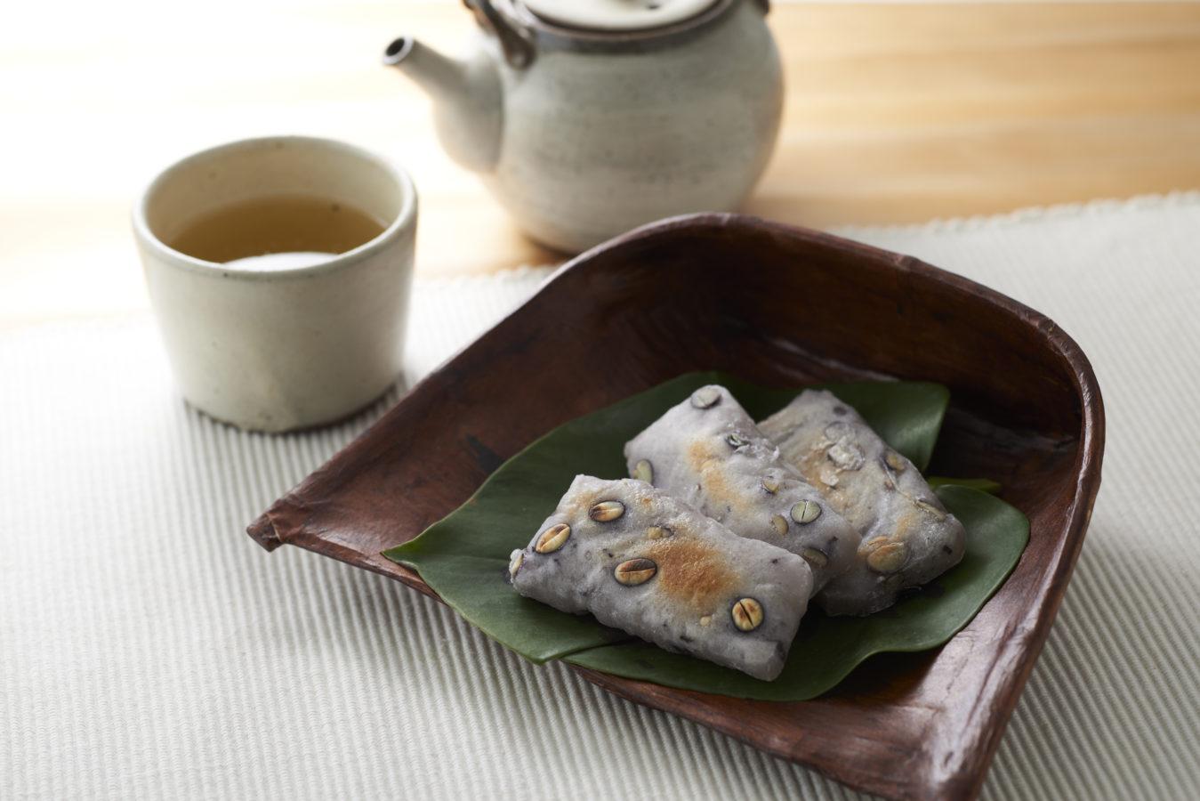 Mame (Soy) Mochi 豆餅
