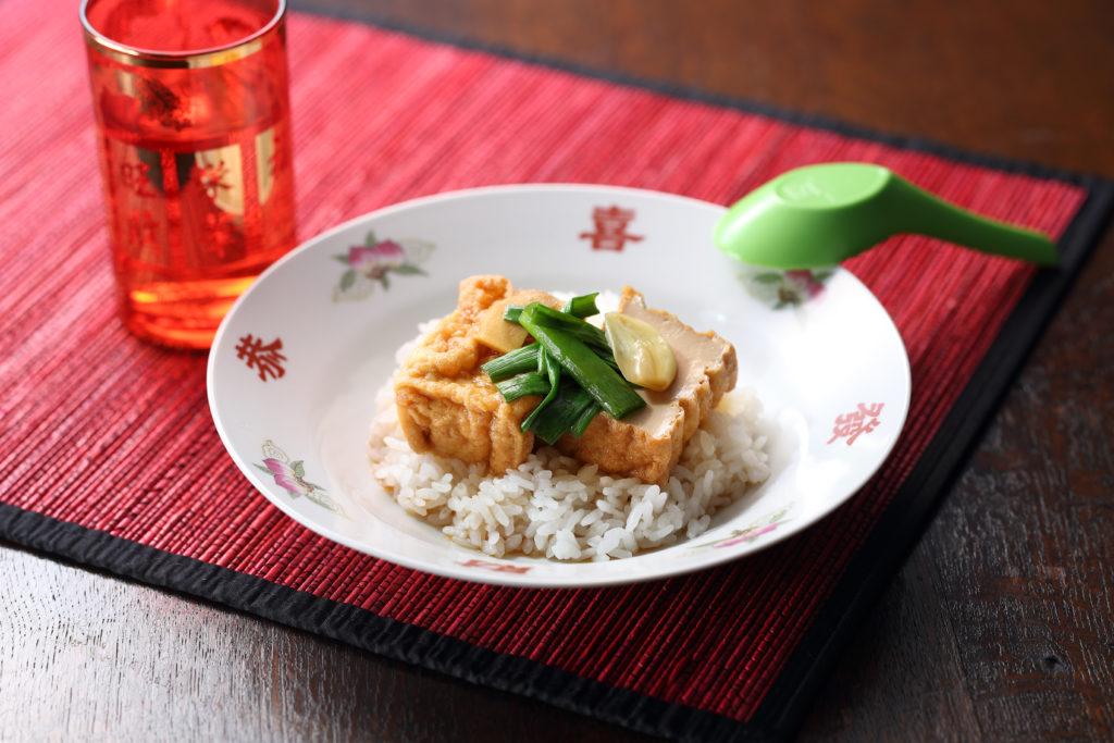 Chinese Marinated Tofu Rice