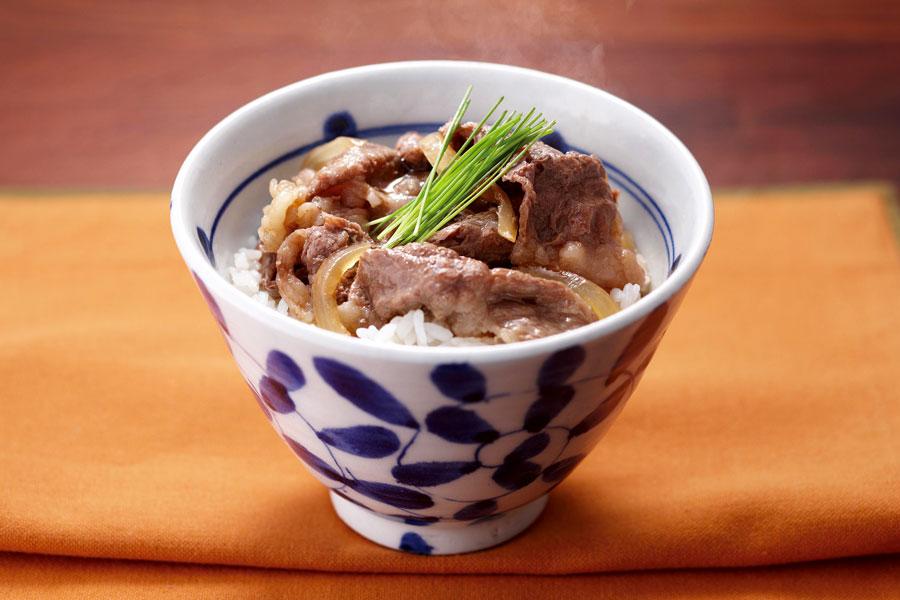 Japanese beef bowl - gyudon