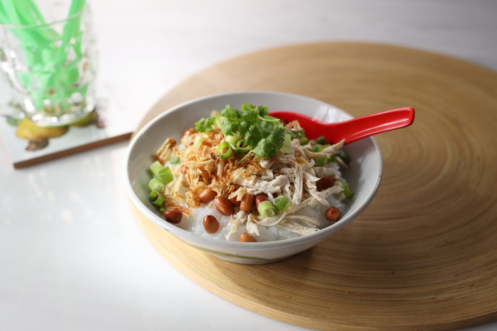 Bubur Ayam - Indonesian Chicken Porridge