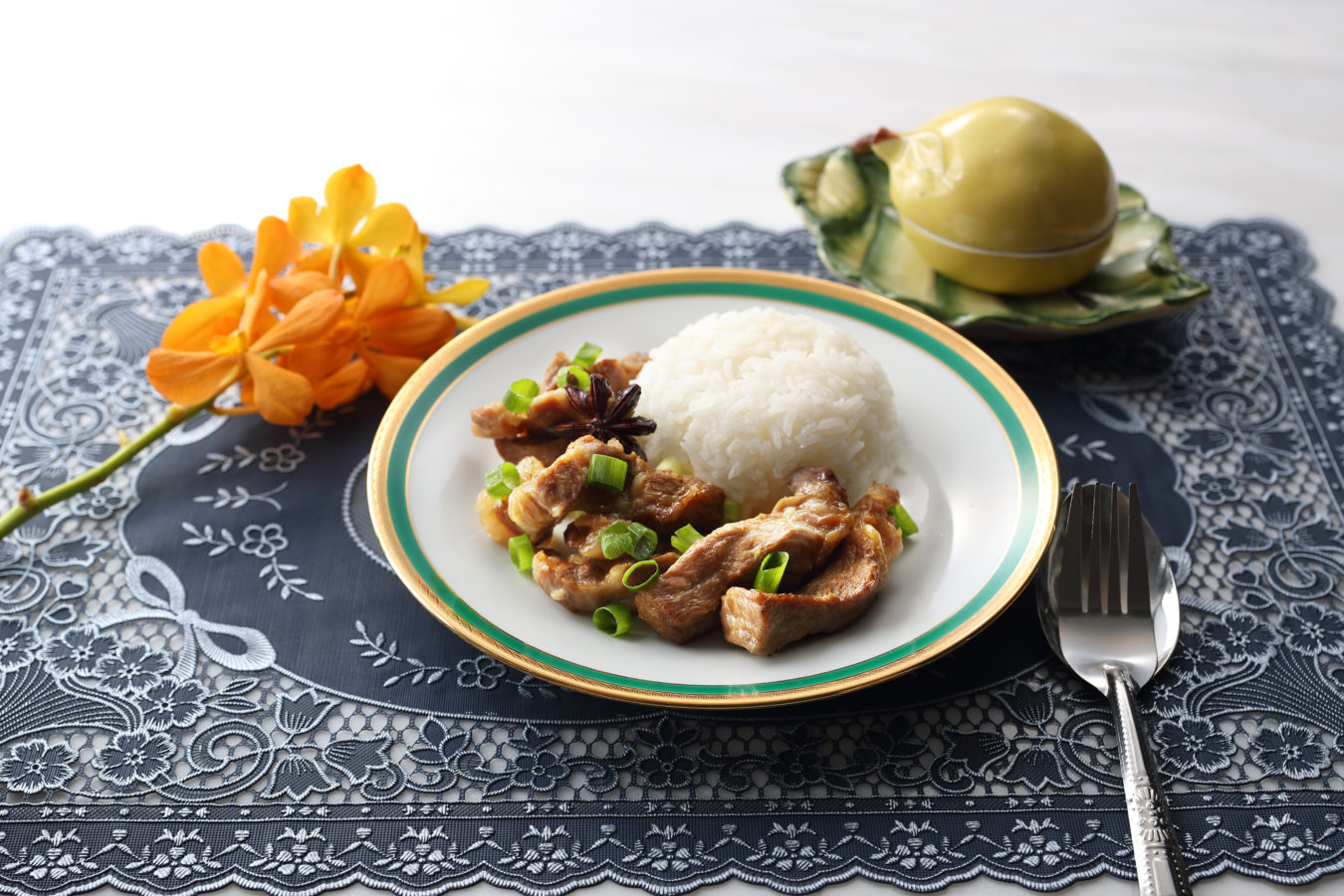 Filipino Style Pork With Rice