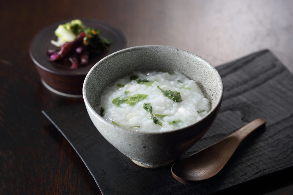bowl of Japanese porridge