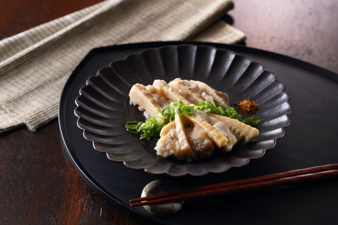 Steamed Chicken and Bamboo Shoot