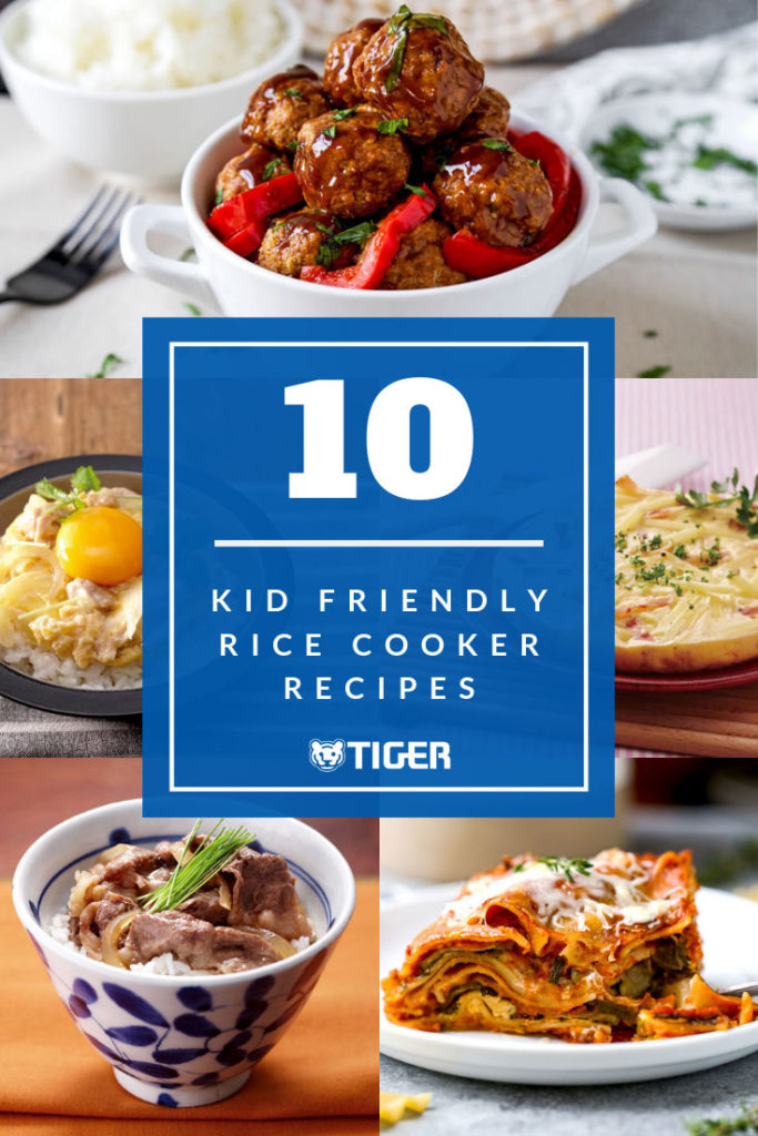 10 kid friendly rice cooker recipes