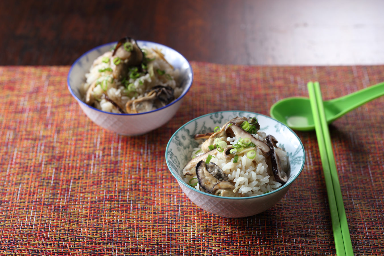 Taiwanese Oyster Rice Bowl