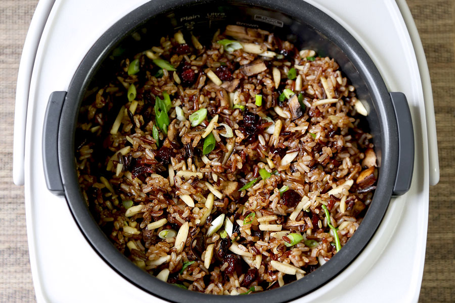 wild rice in rice cooker