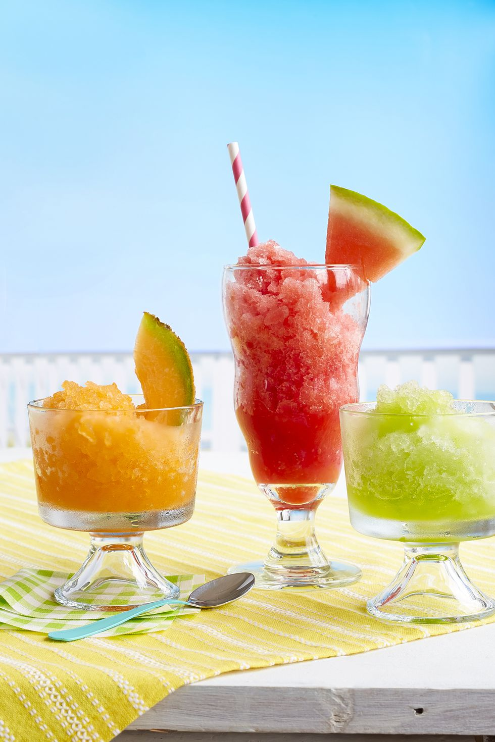 Summer Melon Slushies