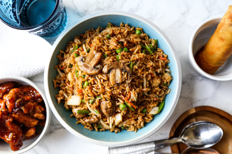 Take Out Style Vegetable Fried Rice