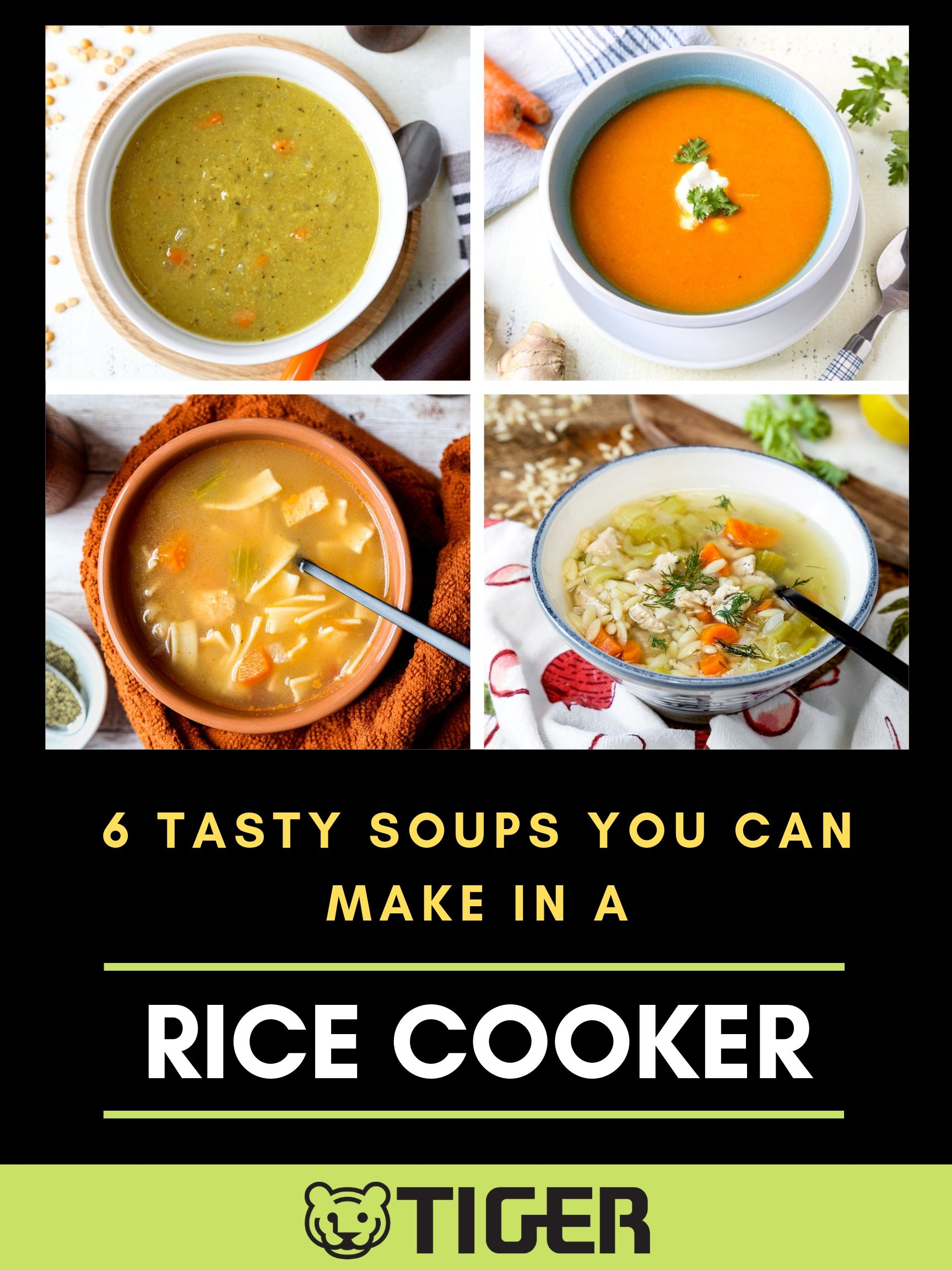 6 Tasty Soups You Can Make In A Rice Cooker
