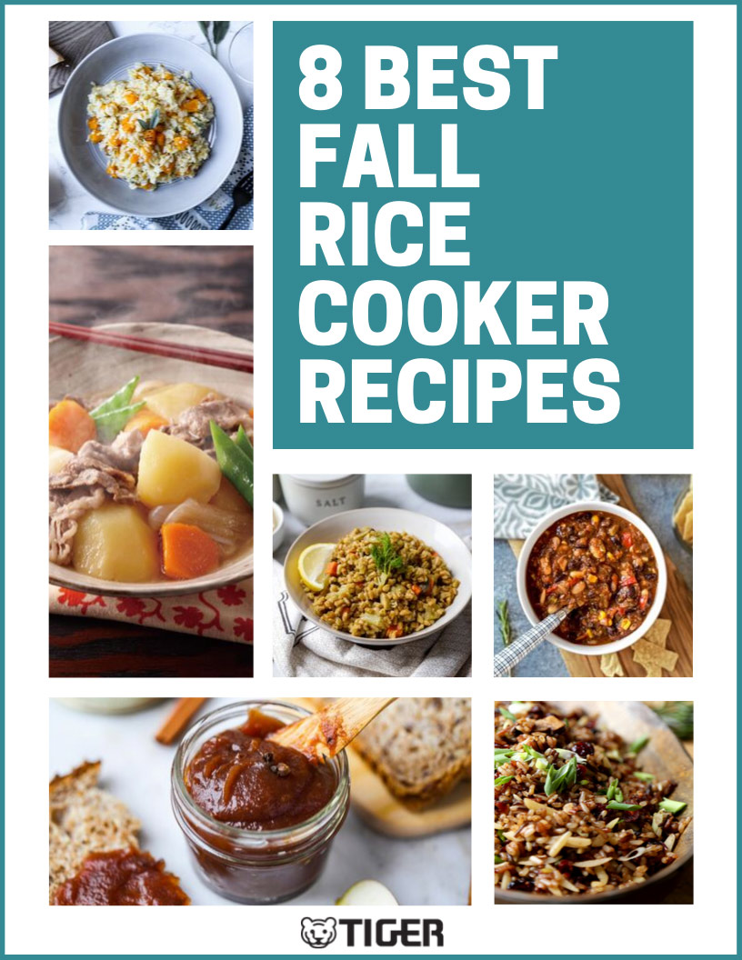 Best Fall Rice Cooker Recipes