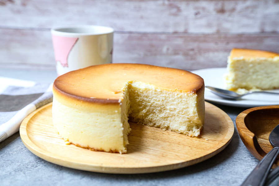 rice cooker cheesecake
