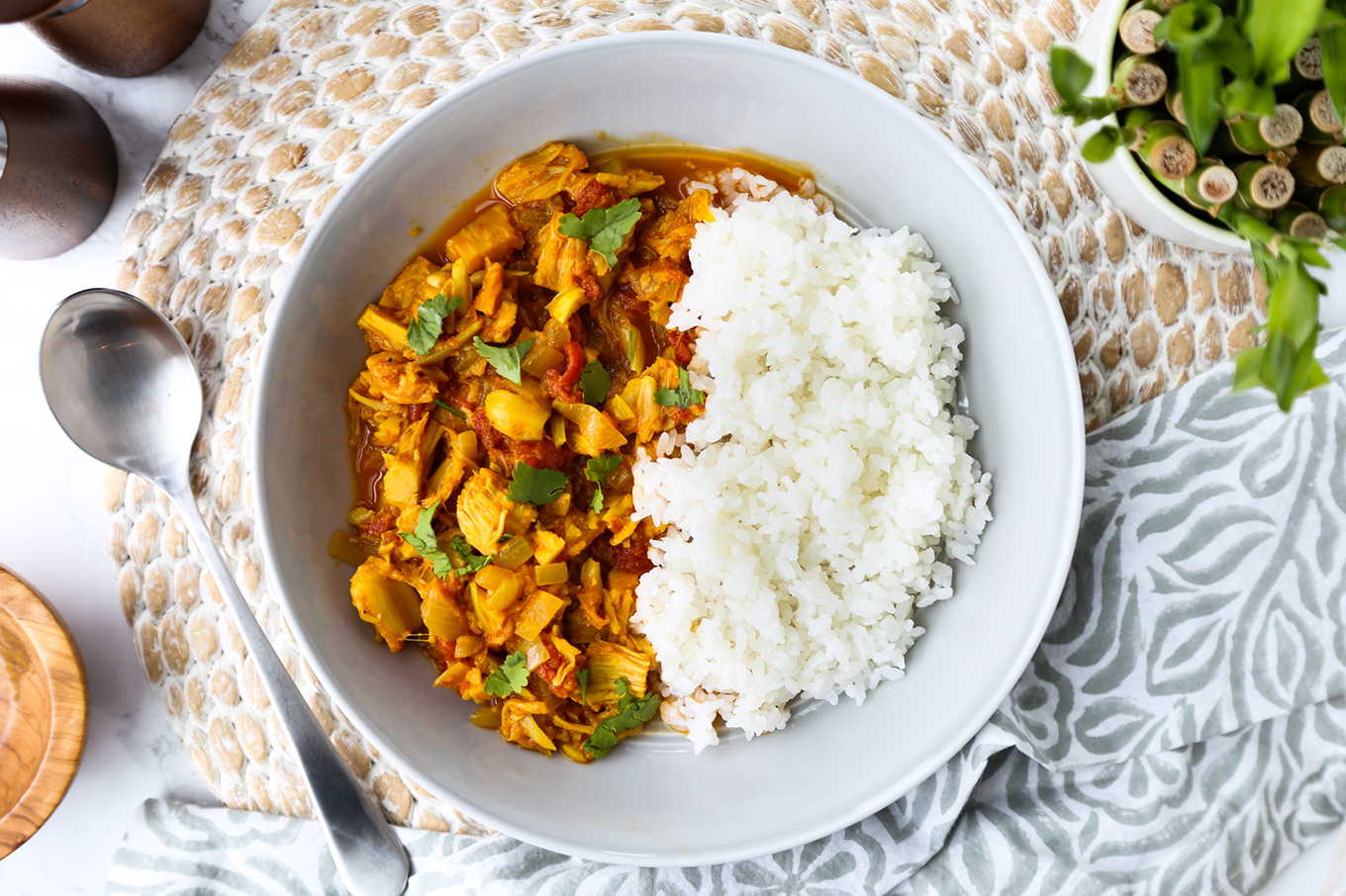 Vegan Jackfruit Curry