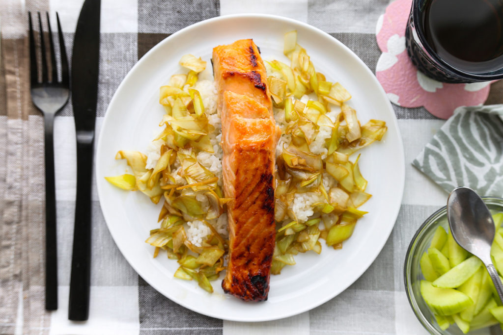 Ginger Leek Salmon