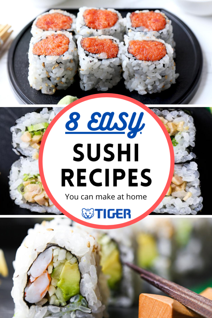 8 Easy Sushi Rolls Recipes You Can Make At Home