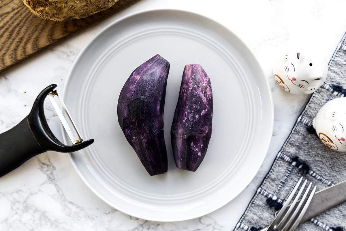 Purple Okinawan Potatoes