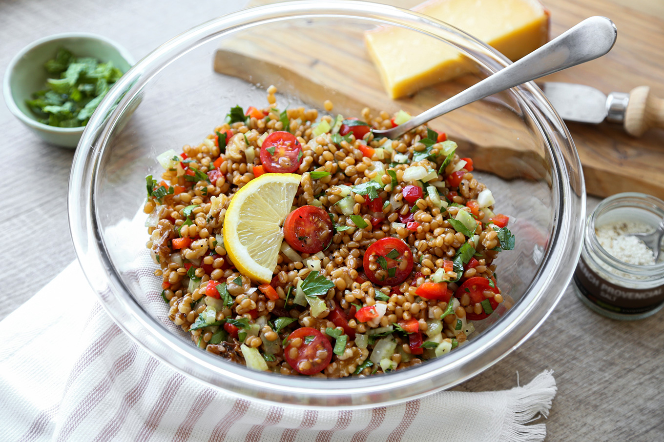 Wheat Berry Salad