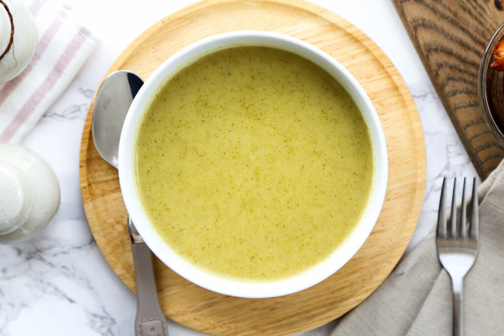 Rice Cooker Broccoli Soup