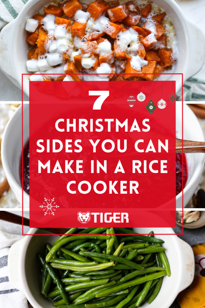 Christmas sides in rice cooker