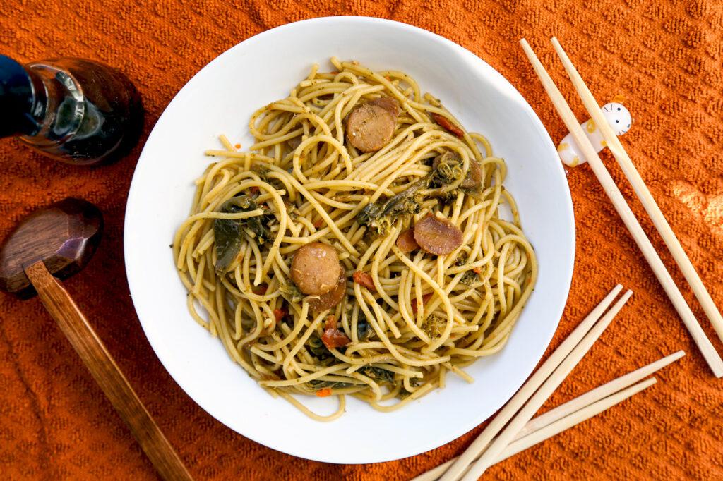 Lo Mein Spaghetti
