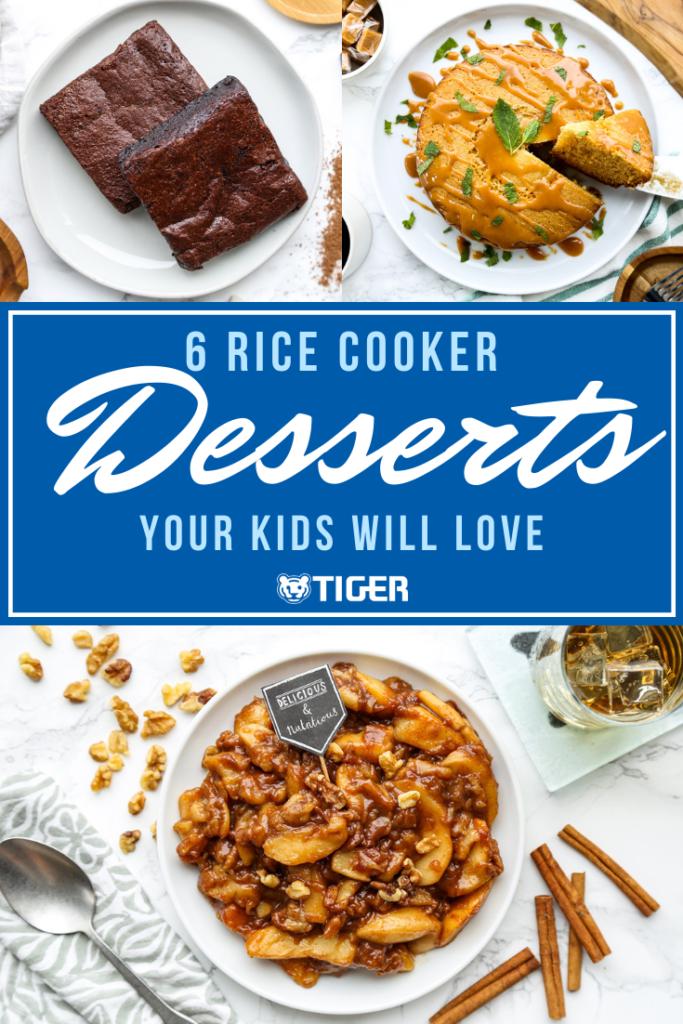 Rice cooker desserts - Tiger Corporation
