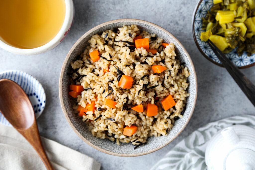 Hijiki Brown Rice