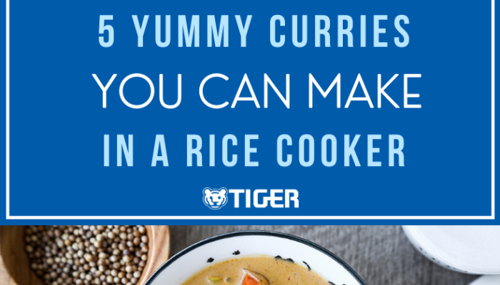 5 CURRIES TO MAKE IN A RICE COOKER