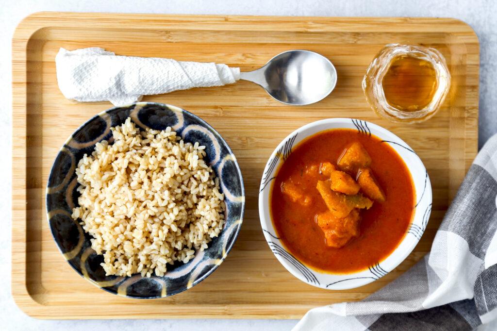 Kabocha Squash Thai Red Curry