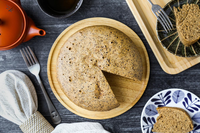 Rice Cooker Black Tea Chiffon Cafe