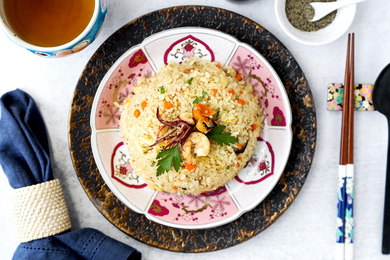 rice cooker seafood pilaf