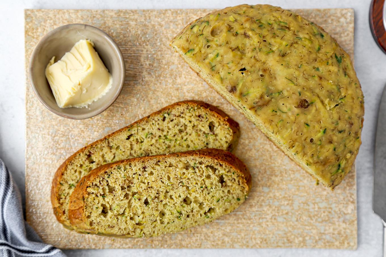 Rice cooker zucchini bread